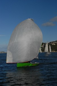 Shaw not Melges not Viper not SB3 but a performance sailing craft