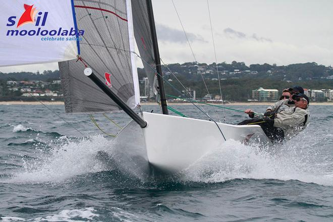 Octopussy downwind, image from Teri Dodds, Sail Mooloolaba 2016